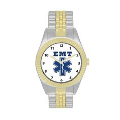 EMT Blue Star of Life Wristwatch