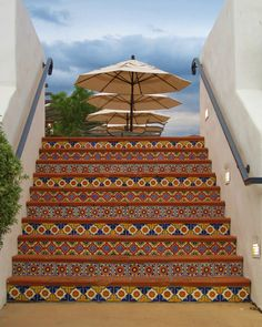 Ojai Valley Inn & Spa outdoor staircase,  Ojai, California