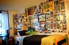 cool dorm decorating idea