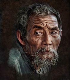 asian   portrait paintings