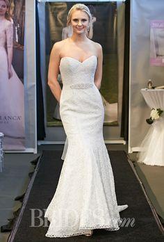Brides.com: Casablanca Bridal - Fall 2014 Wedding dress by Casablanca BridalPhoto: Thomas Iannaccone