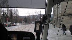 [Cab ride] De Battant à Fontaine-Argent en cabine du tram de Besançon