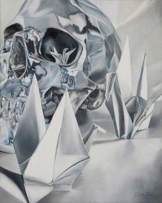 Clare Toms Next of Kin - 2012 Oil on Canvas 41 x 51 cm Next Of Kin, Vanitas, Memento Mori, Oil On Canvas, Original Artwork, Toms, Darth Vader, Batman, Superhero