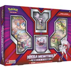New!   Pokemon TCG: Mega Mewtwo Y Collection   - Online Only