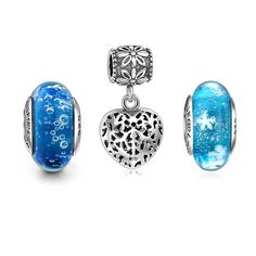 Starry Sky Charm Set 925 Sterling Silver