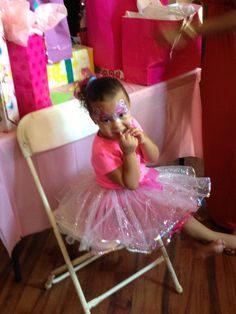 Picture perfect birthday princess...