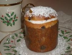 Panettone is the traditional tall, fruit-filled Italian sweet bread that is served at Christmas. Try our traditional panettone recipe and learn about the legend of the bread. Italian Christmas Desserts, Italian Christmas Traditions, Italian Desserts, Italian Recipes, Traditional Christmas Food, Italian Cookies, Sweet Bread, Recipe Using