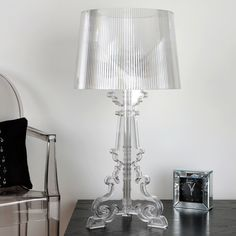 Bourgie, table lamp - Kartell by Ferruccio Laviani, 2004