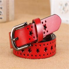 2017 New Fashion Genuine leather belts women fashion Cow skin leather woman Top quality straps female for jeans free shipping