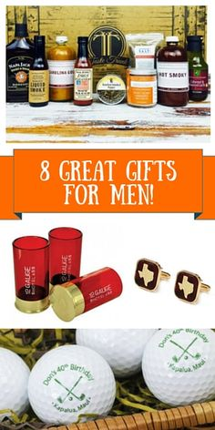 8 Great Gifts for the Man in your Life