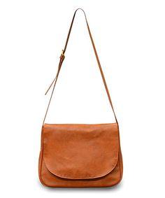Loving this Brown Crossbody Bag on #zulily! #zulilyfinds