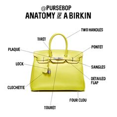 Fun Fact: The average Birkin bag takes 48 hours to make and is completely handmade by one artisan.