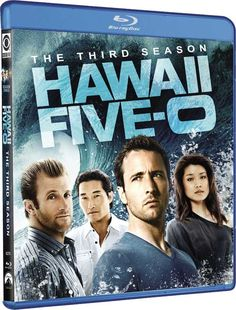Hawaii Five-0 - Blu-ray Disc and DVD Street Date, Extras, Art for 'The 3rd Season'