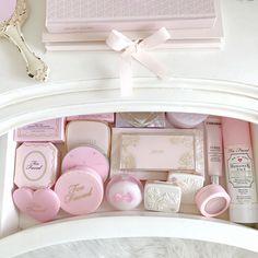 Styling My Princess Dressing Table, Girly Bedroom, Vanity, Makeup Storage   Love Catherine