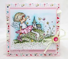 Cute Fairy and Summer Cute Fairy, Lily Of The Valley, Blog Design, Layout Inspiration, Card Making, Paper Crafts, Crafty, Handmade, Stamps