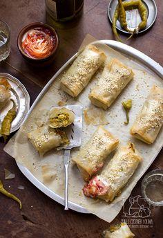 Marokańska pastilla wegetariańska / Chilli, Czosnek i Oliwa / Vegetarian pasilla with zucchini and carrots