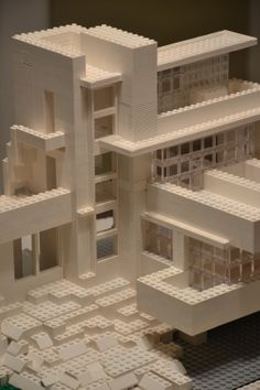 falling water house architectural model falling waters pinterest