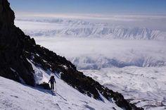 #Climbing Mount #Damavand