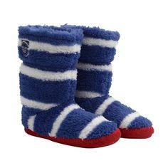 Joules Jnr Boys SlipperSock Blue Stripe a5d40a0caf
