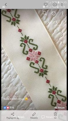 Thrilling Designing Your Own Cross Stitch Embroidery Patterns Ideas. Exhilarating Designing Your Own Cross Stitch Embroidery Patterns Ideas. Cross Stitch Bookmarks, Beaded Cross Stitch, Cross Stitch Borders, Cross Stitch Flowers, Cross Stitch Designs, Cross Stitching, Cross Stitch Patterns, Hand Embroidery Videos, Crewel Embroidery
