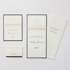 結婚式 招待状 Champagne LOUNGE WEDDINGの結婚式 招待状