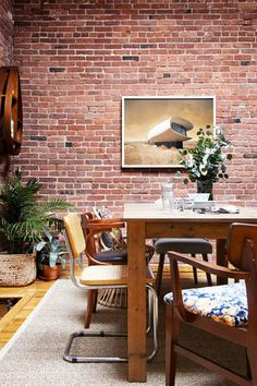Collector's Edition - A Gallerist's Industrial, Artful Brooklyn Home - Photos