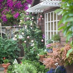 101042790 Rock Garden Design, Rock Garden Plants, Brick Garden, Cottage Garden Design, Japanese Garden Design, Flower Garden Design, Backyard Garden Design, Shade Garden, Cottage Gardens