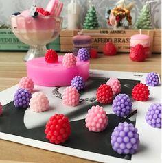 Berry soft Silicone Mold,Resin Semi-Transparent Silicone Mold,uv resin mold,casting mold,unicorn mold,3D berry molds,fruit molds,berry mould
