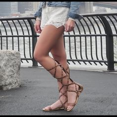 ❗️24HR SALE❗️Bamboo Gladiator Sandals size 8 Bamboo Gladiator Sandals size 8 used ❌ sorry no trades - price is firm even if bundled ❌ Bamboo Shoes Sandals