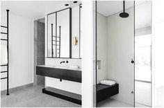 Интерьер ванной комнаты в стиле минимализм