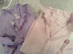 秋を予感させるような艶っぽいイタリアリネンシャツ。ペールライラック&スモーキーラベンダーの入荷です。16800円