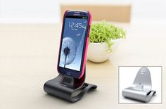 Konnet Galaxy SIII/SII/Note stand, iPhone & iPad stand