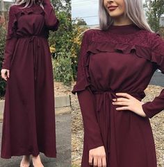 Long Dress Fashion, Modest Fashion Hijab, Modern Hijab Fashion, Muslim Fashion, Boho Fashion, Fashion Dresses, Muslim Dress, Hijab Dress, Office Outfits Women