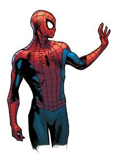 Spider-Man by Stuart Immonen