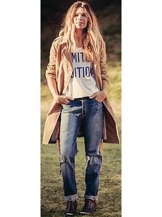 Women's Clothes: Get the Look The Boyfriend Trend | Old Navy