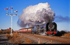 Online railroad photo database, featuring thousands of high-quality photographs of trains, railroads, railroad scenes, and more. South African Railways, Old Steam Train, Steam Railway, Old Trains, Train Engines, Steam Engine, Steam Locomotive, Train Tracks, Train
