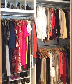Womanu0027s Closet In A Brooklyn Heights Rental. Dresses To The Left, Blouses  On The
