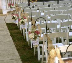 Rustic Wedding Isle