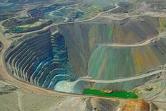 Tyrone Copper Mine - Copper is still king in Grant County, NM. New Mexico Usa, Silver City, Land Of Enchantment, Native American Fashion, Imagines, My Heritage, Old West, Santa Fe, Monuments
