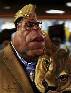 James Earl Jones as King Jaffe Joffer by Alexander Novoseltsev