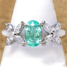 paraiba tourmaline ring (SEE PRETTY -- not the one I saw but similar!!)