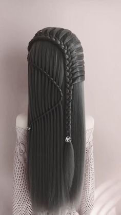 Hair Styles For School Image gallery – Page 676736281484745334 – Artofit Cool Braid Hairstyles, Up Hairstyles, Straight Hairstyles, Kids Hairstyle, Trending Hairstyles, Formal Hairstyles, Hair Updo, Hair Up Styles, Braid Styles