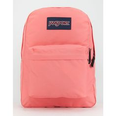 JanSport SuperBreak Backpack (280 HKD) ❤ liked on Polyvore featuring bags 59c56e33e2868