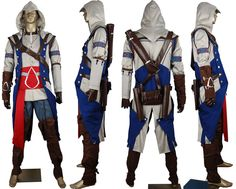 Assassin's Creed III AC 3 - Connor Kenway Cosplay Assassins Costume. $547.00, via Etsy.