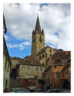 Quaint Transylvania VI - Sibiu, Romania Beautiful Buildings, Beautiful Landscapes, Beautiful Places, Sibiu Romania, Castle House, Eastern Europe, Bulgaria, Monuments, Hungary