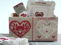 Caja de madera decorada con decoupage. wooden box decoupage. www.elpiojito.es