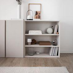 DIY Undersofa Storage on Wheels Ikea Ivar Cabinet, Ikea Cabinets, Wood Cabinets, Cabinet Doors, Bedroom Cabinets, Furniture Projects, Custom Furniture, Ikea Hack, Ivar Regal