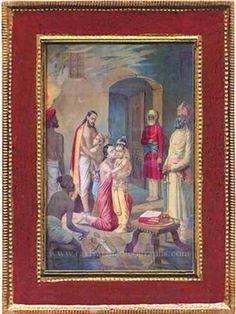 Ravi Varma Old Prints,Oleographs,Antique Prints,Lithographs,Old Paintings Lord Vishnu Wallpapers, Mughal Empire, Old Paintings, Antique Prints, Hinduism, Incredible India, Krishna, Mythology, Anniversary
