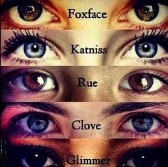 Los ojos de las chicas...