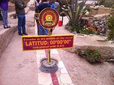 Quito, Ecuador - the equator